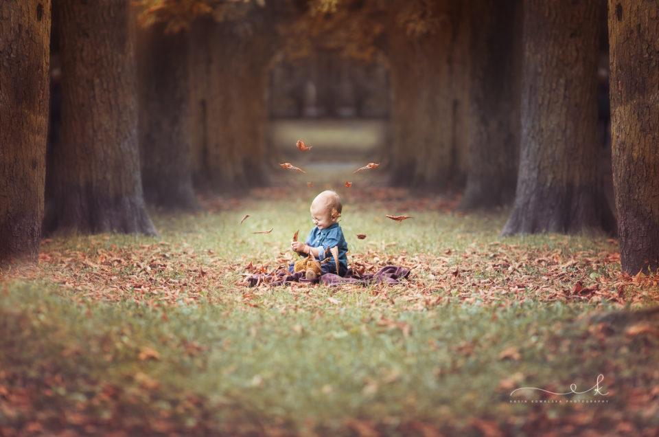 Jesienna mini sesja dziecięca