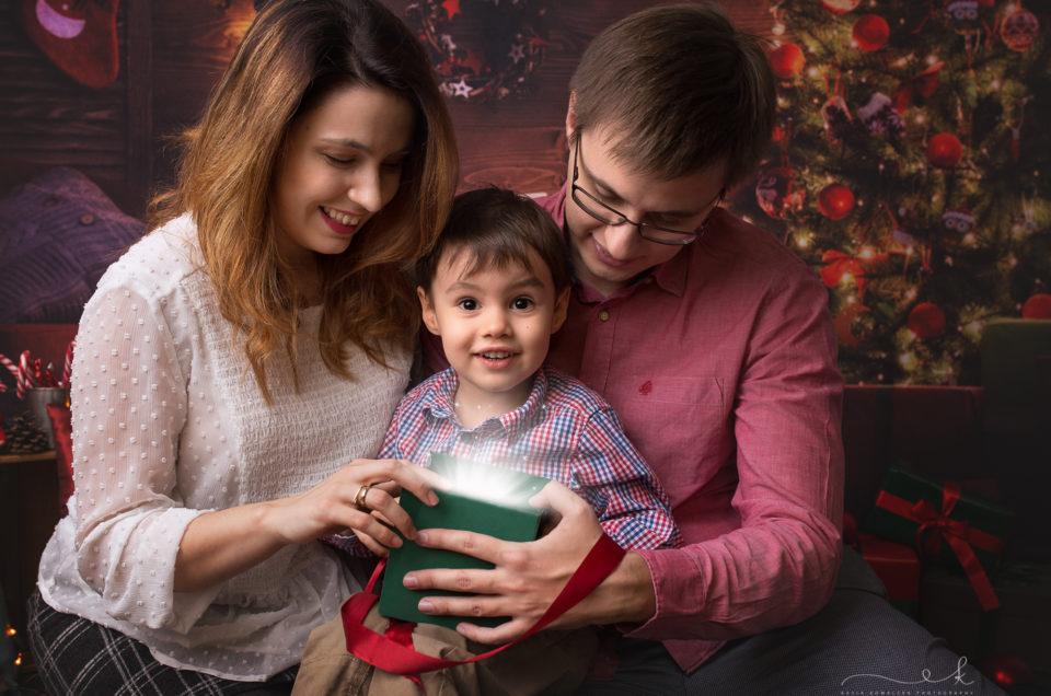 Mini sesja świąteczna Adasia