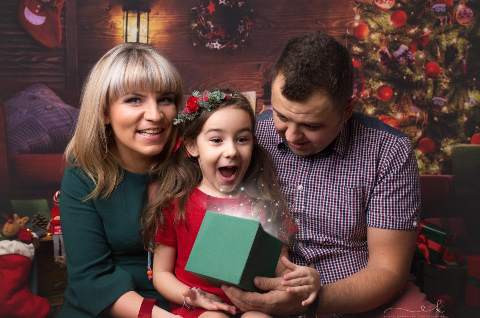 Milena i mini sesja świąteczna