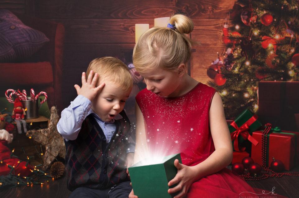 Sara i Igor świątecznie