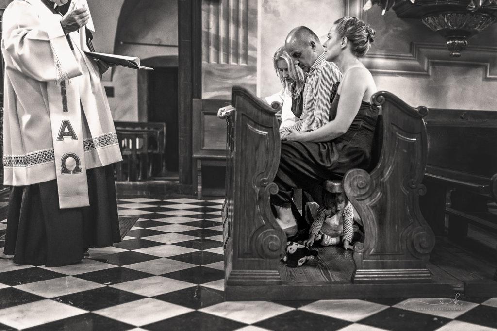 chrzest święty w Krakowie