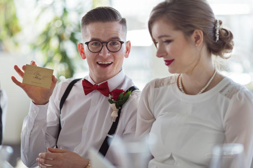 Ślub cywilny Marysi i Mikołaja w Krakowie