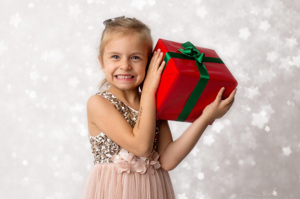 Ania na mini sesji świątecznej