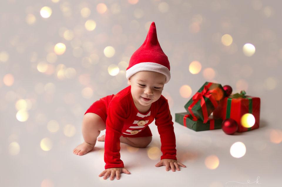 Mini sesja świąteczna Mikołaja