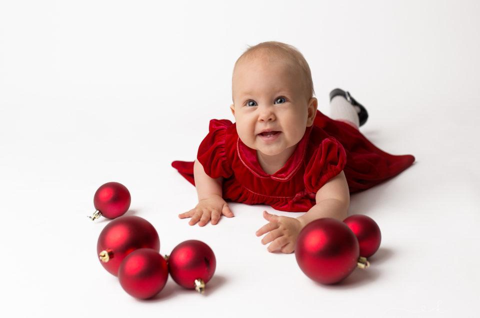Mini sesja świąteczna Zosi