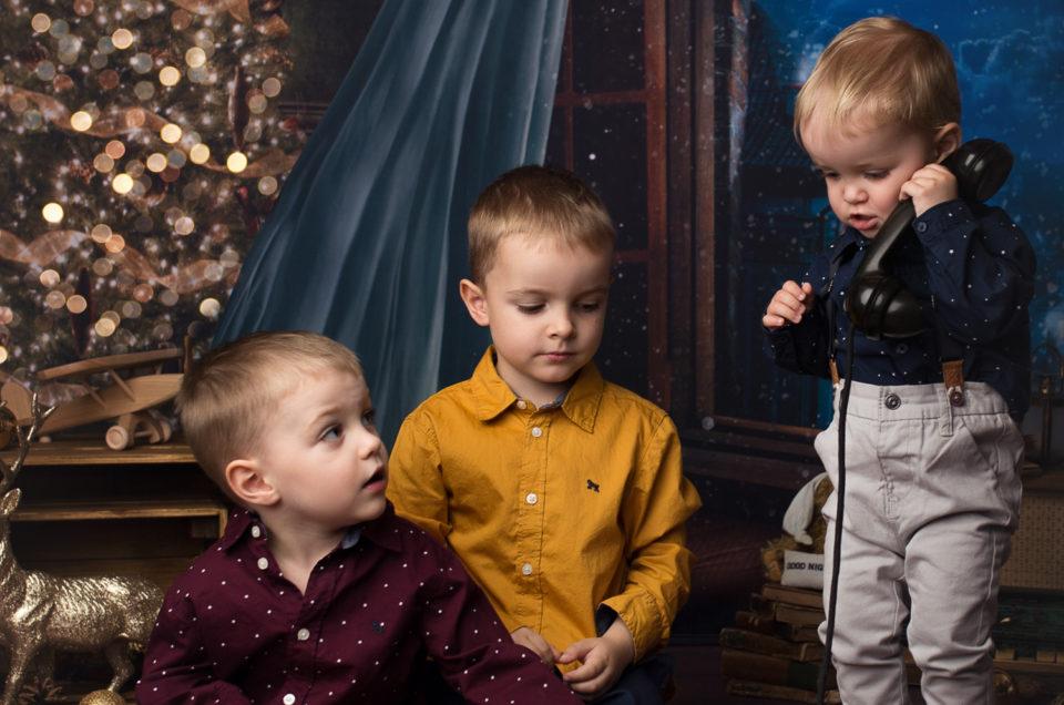 Trzej muszkieterowie na mini sesji