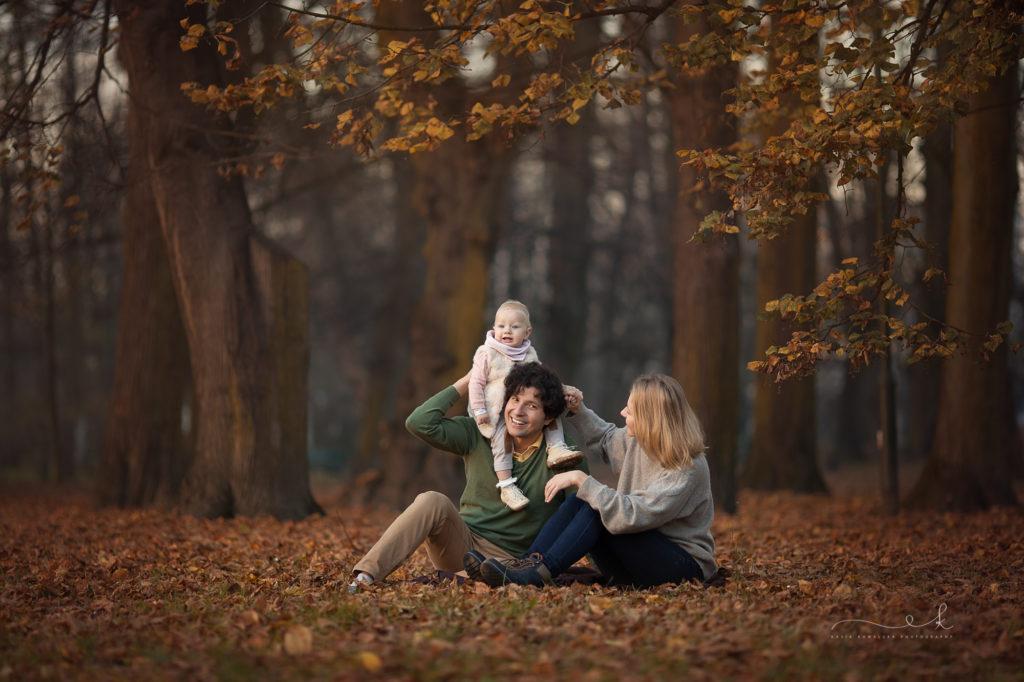 jesienna sesja plenerowa w krakowie