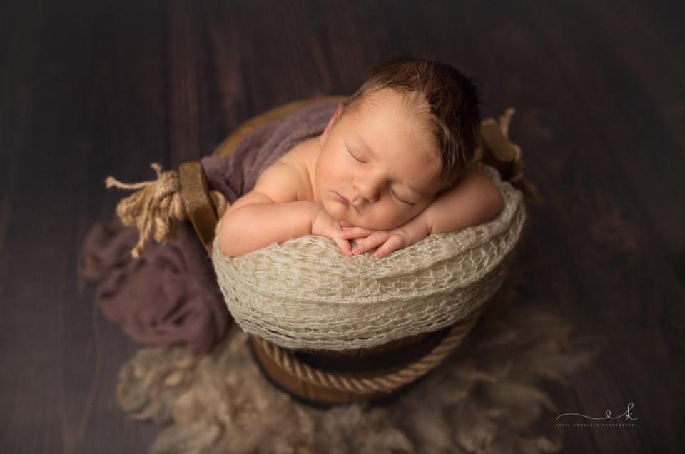 Sesja noworodkowa Bruna