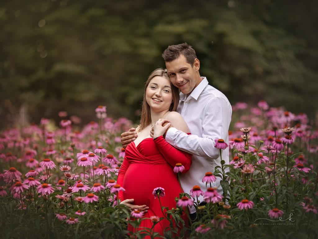 letnia sesja ciążowa