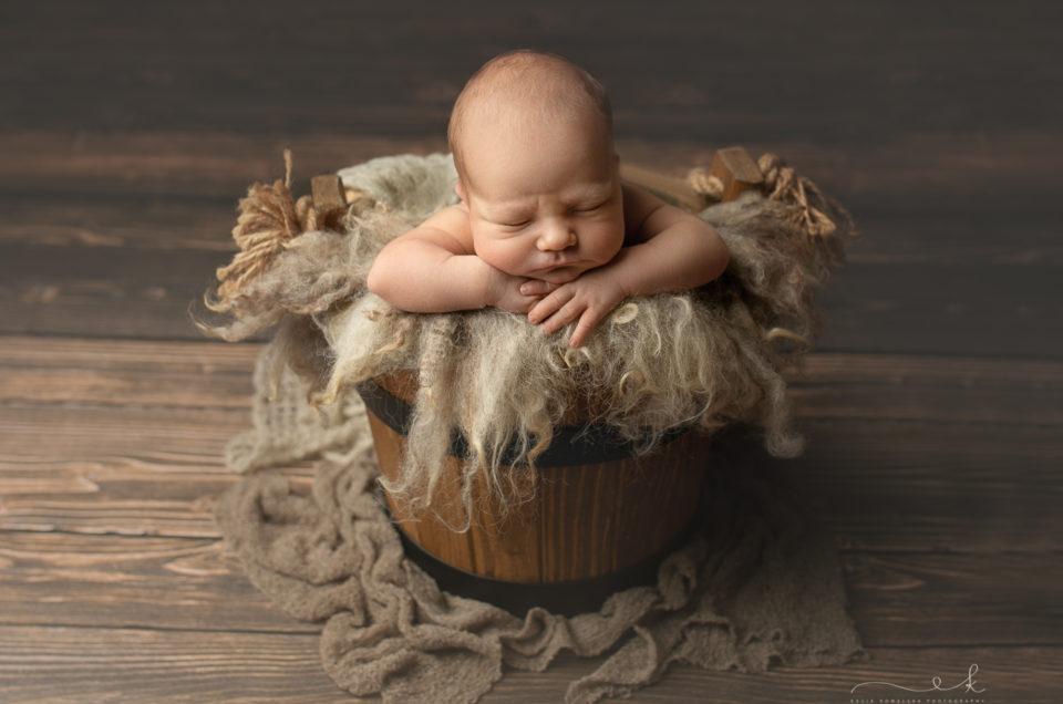 Sesja noworodkowa – Aleksander