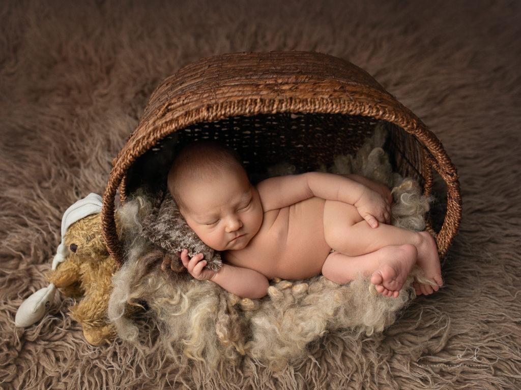 Sesja noworodkowa - Aleksander