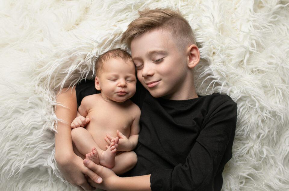 Zuzia – naturalna sesja noworodkowa